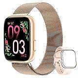 AIMIUVEI Smartwatch Mujer, Reloj Inteligente Mujer con 1.4 Inch...