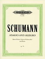 シューマン: アダージョとアレグロ Op.70/ペータース社/ピアノ伴奏付ホルン・ソロ