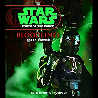 Star Wars: Legacy of the Force #2: Bloodlines audiobook cover art