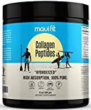 Herbologie 100% Pure Collagen Peptides Powder - Hydrolyzed for High Absorption, Anti Aging Protein to Support Skin, Hair, Nails and Joint Health - Grass Fed, Gluten and Dairy Free (Unflavored, 8 Oz)