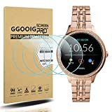 GGOOIG 4-Pack for New Fossil Women's Gen 5E 42mm Screen Protector, 2.5D 9H Hardness Tempered Glass Screen Protector for Fossil Women's Gen 5E 42mm Smartwatch