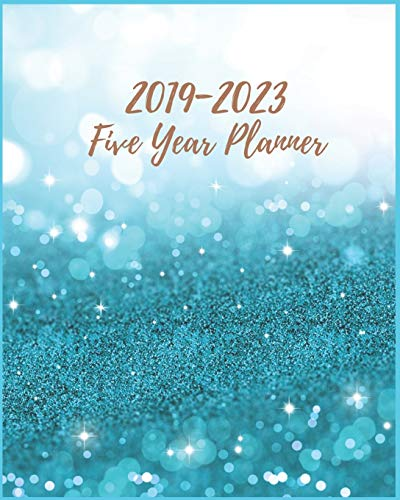 2019-2023 Five Year Planner: Light Blue 5 year planners, 2019-2023 Monthly Schedule Organizer Agenda Planners, 60 Months Calendar, 5 Year Appointment Notebook For Business Planners Journal Planner.