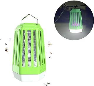 Lámpara Antimosquitos Lámpara Camping Matamosquitos Eléctrico Portátil LED Recargable No Tóxico No Radiación Ideal para Camping