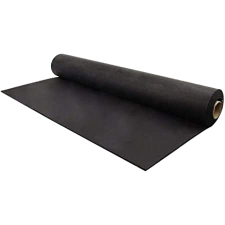 Home Gym Rubber Flooring American Floor Mats 3//8in 9mm Protective Exercise Mats Thick 10/% Grey 4 x 7 Heavy Duty Rubber Rolls