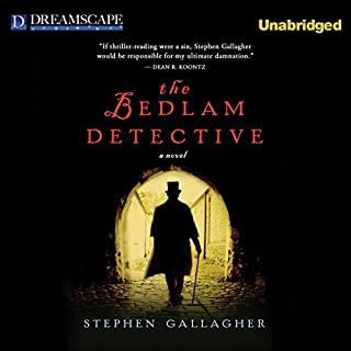 The Bedlam Detective audiobook cover art