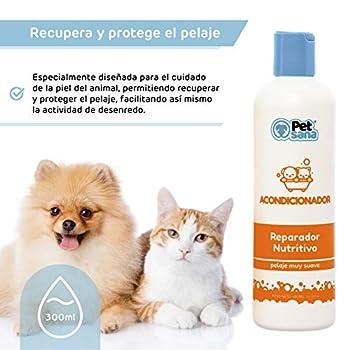 Shampooing Aloe Vera pour chiens / Shampooing pour chiens et chiots Shampooing pour chiens Cheveux courts et cheveux longs / Shampooing pour chiens Cheveux blancs et noirs (huile de vison + Demelant)