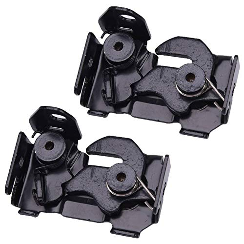 Bapmic 2048800260 Front Left + Right Hood Lock Latch Kit for Mercedes-Benz W166 W204 W205 W207 W212 (Pack of 2)