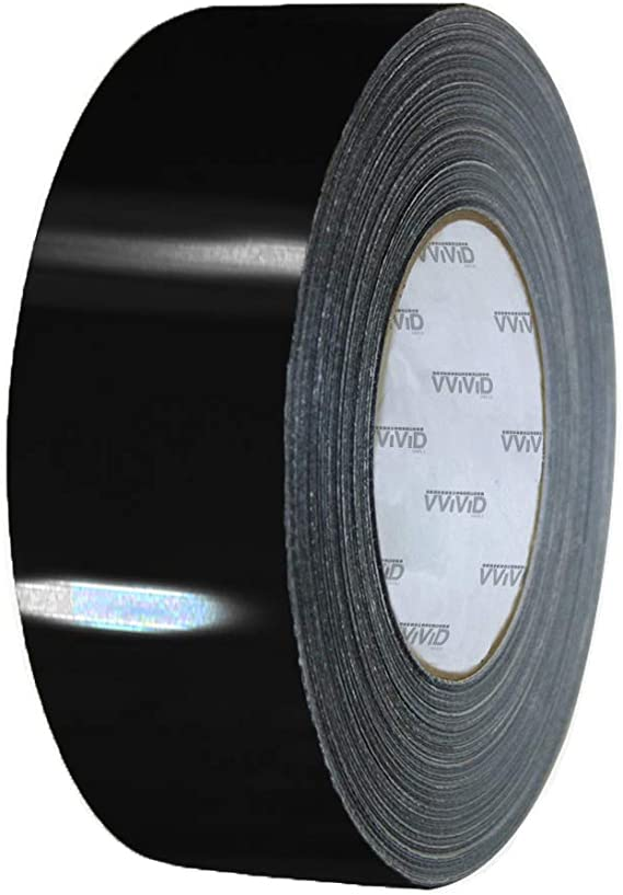 4inch Wide Adhesive Tape House Glossy Silver Mirror Chrome Vinyl Wrap Sticker VL