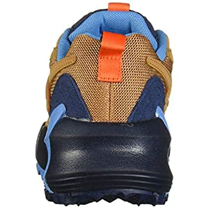 Reebok Women's AZTREK Double Mix Trail Sneaker, Brown/Navy/Cyan, 11.5 M US