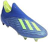 adidas X 18+ SG, Chaussures de Football Homme, Bleu (Fooblu/Syello/Cblack Fooblu/Syello/Cblack), 40 2/3 EU