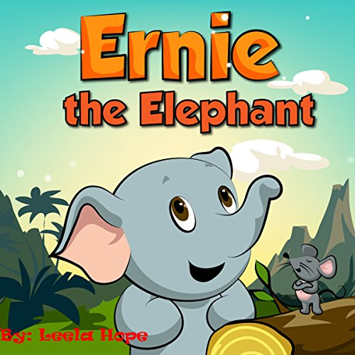 Ernie the Elephant audiobook cover art