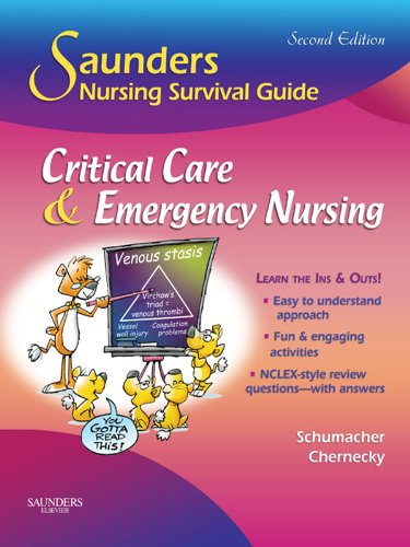 51raLsHx4FL - Saunders Nursing Survival Guide: Critical Care & Emergency Nursing E-Book