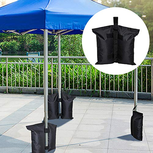 LLJEkieee Deluxe Round Patio Sunshade Umbrella Base Weight Bag Sand up