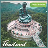Thailand Calendar 2022: Official Thailand 2022 Calendar (12 Months) , Travel Calendar 2022, Square 2022 Calendar