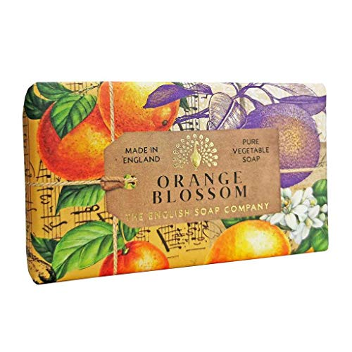 The English Soap Company, Orange Blossom Soap Bar, Anniversary Collection 200g