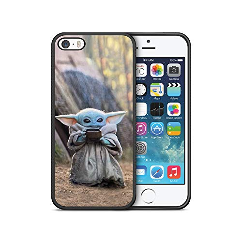 SW ModifiedCases Bumper Case Compatible with iPhone 5/5S (Baby YO-DA)