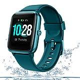 GOIACII Reloj Inteligente Hombres,Smartwatch Mujeres Android iOS con Monitor de Frecuencia Cardíaca (Verde)