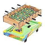 Mesa De Juegos De Arcade Múltiple, Futbolín 2 En 1 Y Mesa De Juego De Billar para Salas De Juegos, Bares, Fiestas, Noche Familiar