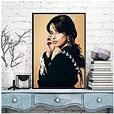 nr Camilla Cabello Sexy Music Singer Poster Gift Gift para Pop Singer Friends, Decoración del hogar-50X70cm sin Marco