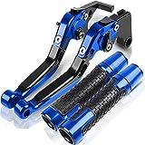 Pedales de Embrague para Vespa GTS 125250300 GTS S125 S150 Super Granturismo Palancas De Embrague De Freno De Motocicleta Manillar Empuñaduras De Mano (Color : N)