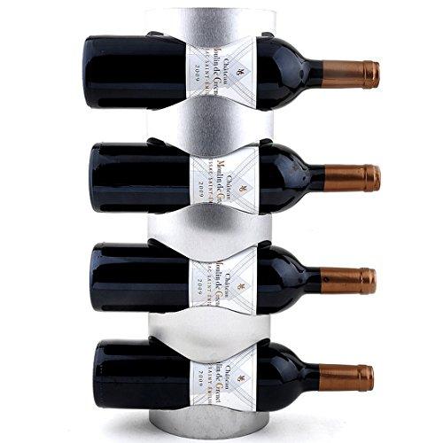WR1 ワインラック ホルダー 3本収納 4本収納 ワイン ボトル 収納 ケース スタンド インテリア ディスプレイ (4本収納)