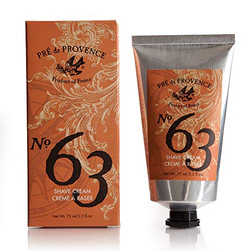 No. 63 Men's Shave Cream, Aromatic, Warm, & Spicy Masculine...