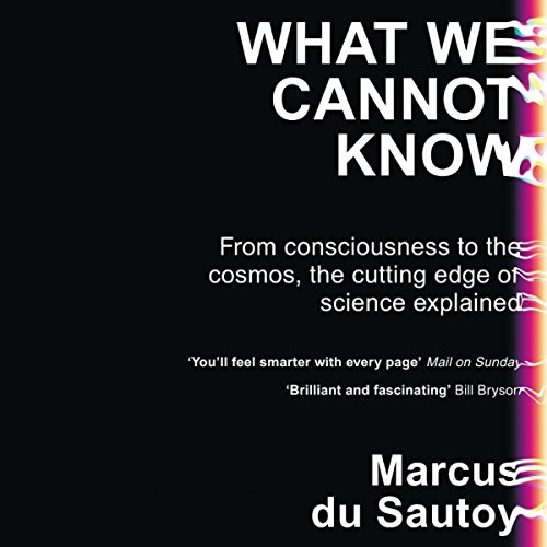 What We Cannot Know audiobook cover art