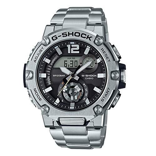 Casio G-Shock G-Steel Orologio Uomo Multifunzione con Cinturino Acciaio Inox e Connessione Bluetooth - Ref. Gst-b300sd-1aer