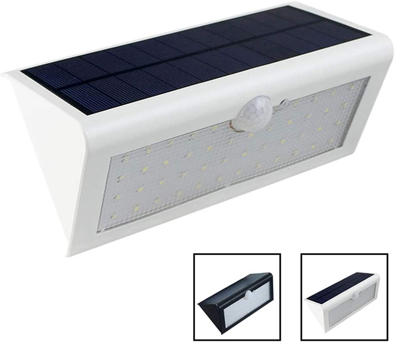 2PCS Solar Powered Light 46 LED Solar Light PIR Human Body Motion Sensor Outdoor LED Yard Garden Light Waterproof IP65 Wall Lamp