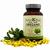 Mortar and Pestle Herbs Oil of Oregano - Made from Mediterranean Oregano Oil - 90 Easy to Swallow Softgel Capsules - Extra Strength 150 mg - Made in the USA