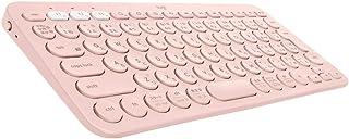 ロジクール ワイヤレスキーボード 無線 キーボード 薄型 小型 K380RO Bluetooth K380 ワイヤレス ローズ Windows Mac iOS iPad Android Chrome 国内正規品 2年間無償保証
