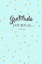 Gratitude Journal Turquoise: Daily Gratitude Book to Practice Gratitude