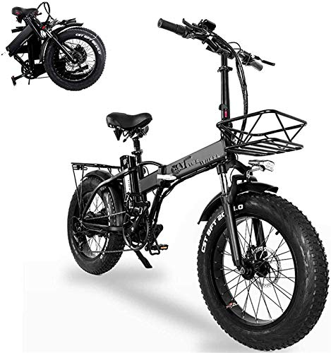 Bicicletas Eléctricas, Bicicletas eléctricas plegables para adultos 20 en con 48V de...