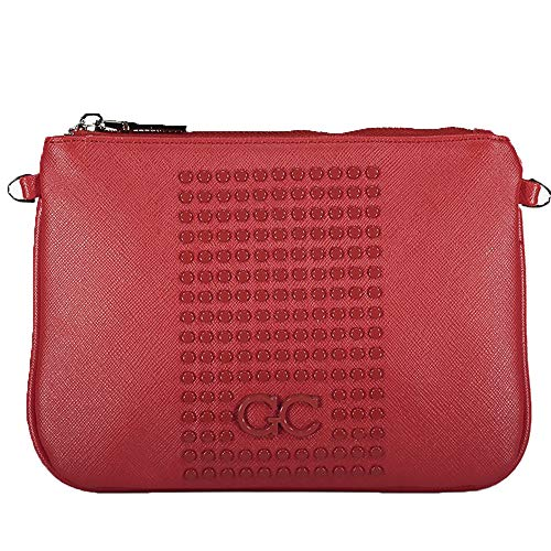 Gio Cellini Red tone on tone bag