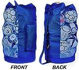 Fitdom Heavy Duty XL Soccer Mesh Equipment Ball Bag w/Adjustable Shoulder Strap...