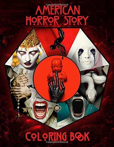 American Horror Story Coloring Book: Great Gift...