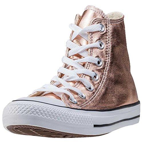 Converse Metallic Chucks Women CT AS HI 154034C Rosegold, Schuhgröße:37