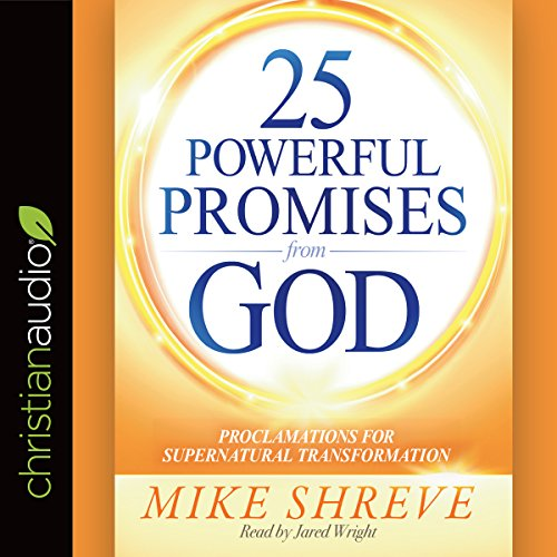 25 Powerful Promises from God audiobook cover art