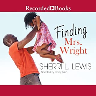 Finding Mrs. Wright audiobook cover art