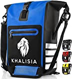 KHALISIA - 3in1 Fahrradtasche - wasserdichte Gepäckträgertasche - Fahrradrucksack mit Reflektoren...