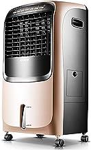 Airco-ventilator voor huishoudelijk gebruik, draagbare verwarming, koel- en verwarmingsventilator met afstandsbediening en...