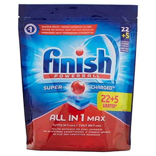 Finish Alles in einem max 22+ 5Bremsbeläge Spülmaschine Regular, 502GR–[3Stück]