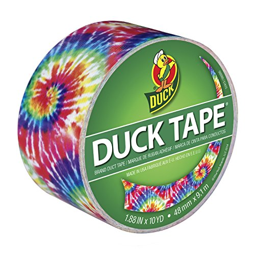 Tie Dye Printed Duct Tape