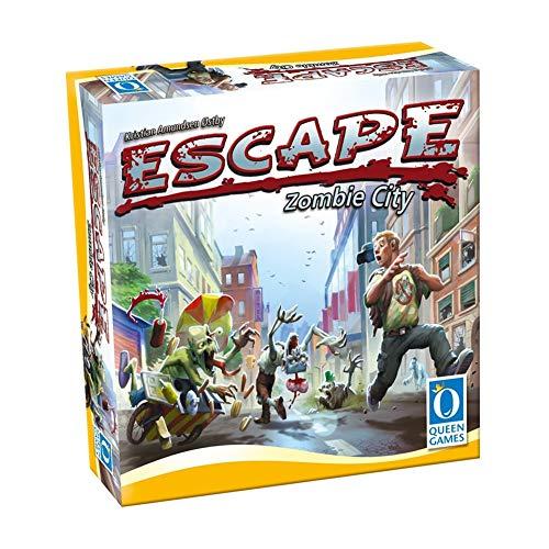 GWLTV Juego de Mesa -Escape Zombi Ciudad Inglés Juego de Estrategia