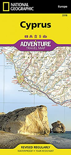 Cyprus (National Geographic Adventure Map, 3318)