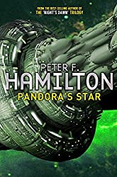 Cover of Pandora's Star by Peter F. Hamilton