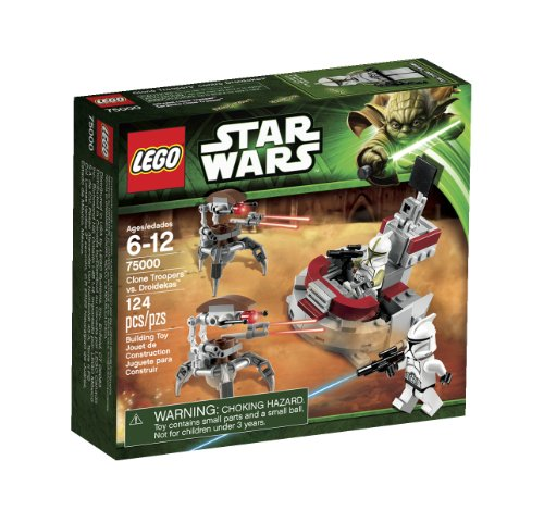 LEGO Star Wars Clone Troopers vs Droidekas 75000 by LEGO