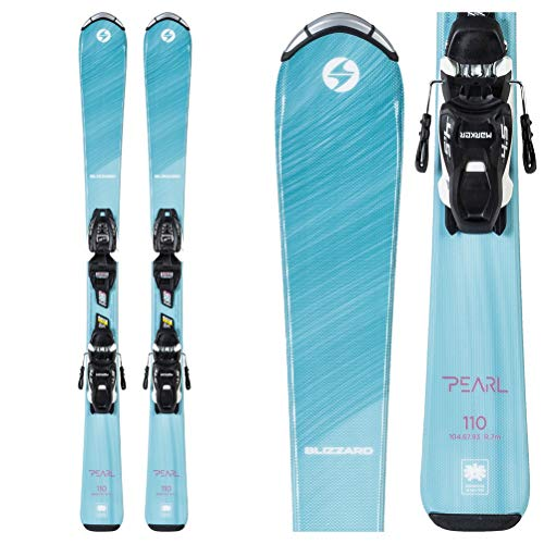 2019 Blizzard Pearl Junior Skis w//FDT Junior Bindings