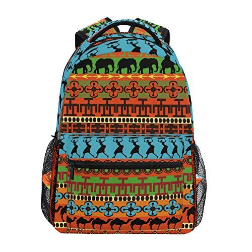 Cammelli Etnici Africani Delle Donne Zainetti Zaino per bambini Ragazze Ragazzi borsa zaini da viaggio grande per laptop