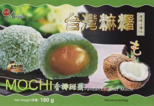 Awon Mochi, Kokosnuss Pandan (1 x 180 g)